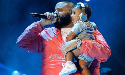 dj khaled DJ Khaled's Son Signs Deal With Jordan Brand 01DJ Khaled and Asahd Khaled hot 97 summer jam 2017 billboard 1548