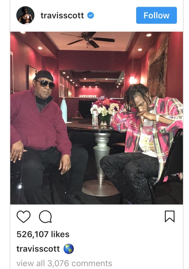 Travis Scott x Stevie Wonder Collab On The Way? img 5246