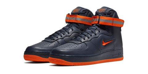 sneaker lab Here Are 8 Things You Didn't Know You Could Do With Sneaker Cleaning Products nike air force 1 nyc obsidian brilliant orange 2