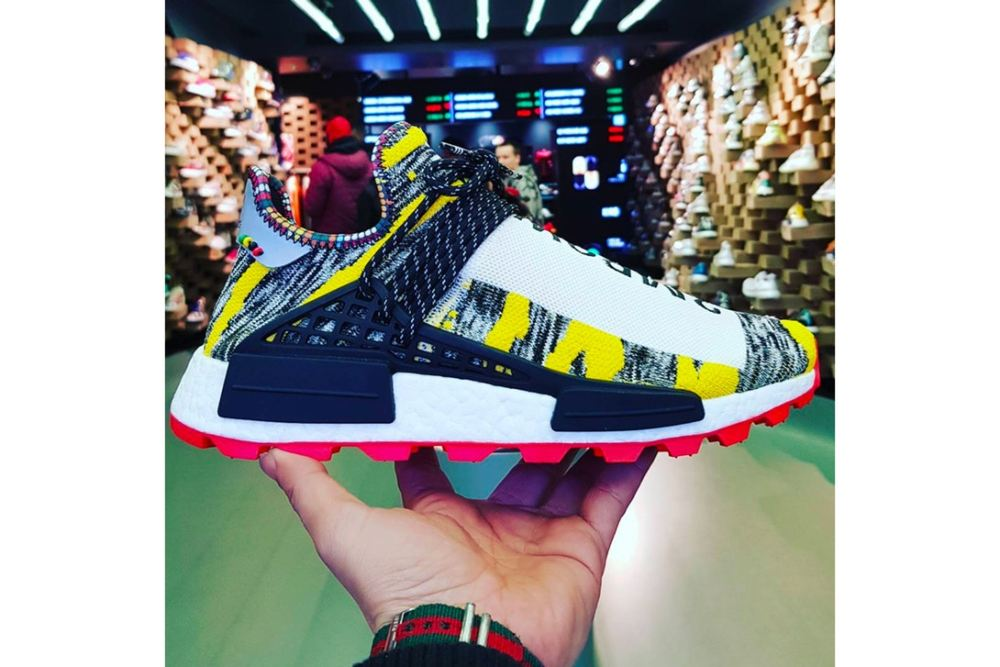 New Pics Of The Pharrell x adidas Hu NMD Trail 'Afro Pack' Emerge [SneakPeak] pharrell adidas nmd hu afro pack unveil 002