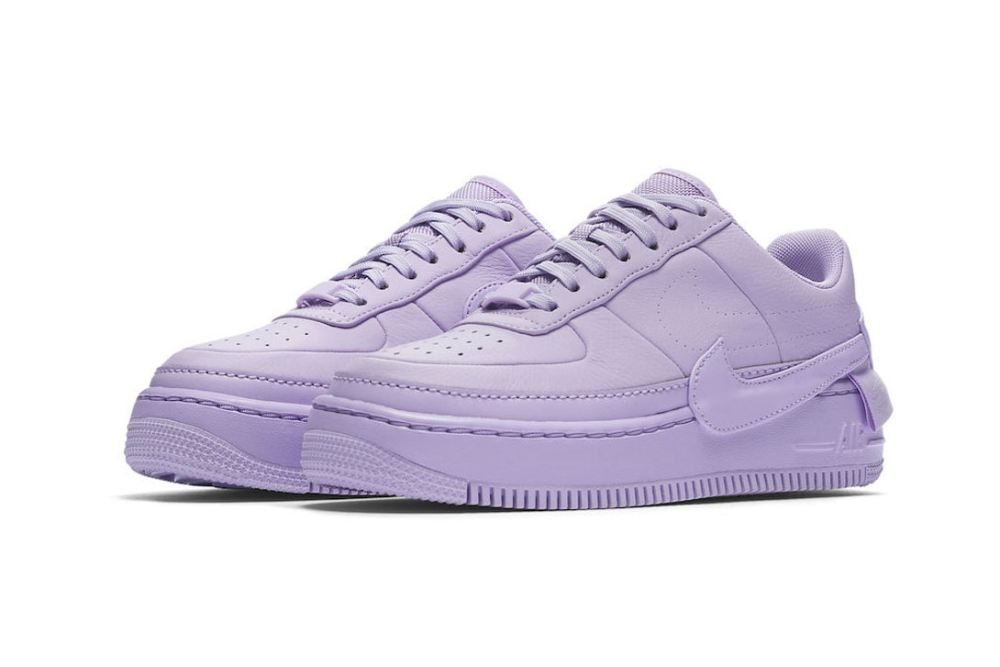 Nike 'The 1 Reimagined' Air Force 1 Low Jester 'Violet Mist' nike air force 1 low jester violet mist first look 01