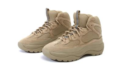 New YEEZY Season 6 Desert Rat Boot Silhouettes Revealed yeezy season 6 desert rat boot taupe graphite suede 01