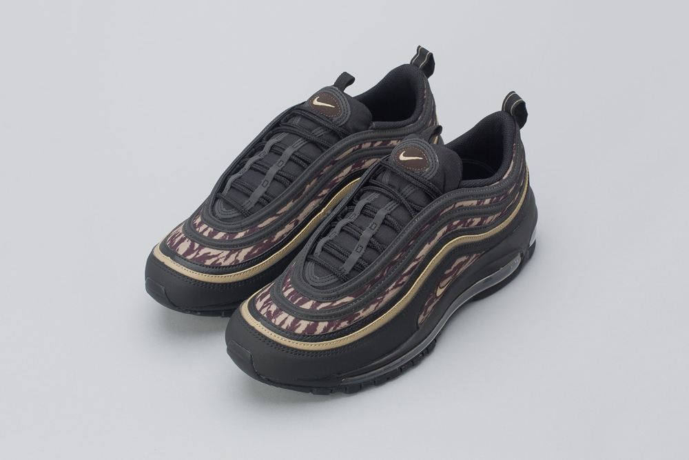 Nike Air Max 97 'Tiger Camo' nike air max 97 tiger camo black brown release 7