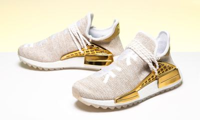 China Pack Friends & Family Pharrell x adidas Originals NMD Hu Trail pharrell adidas nmd hu happy gold china exclusive release info 01