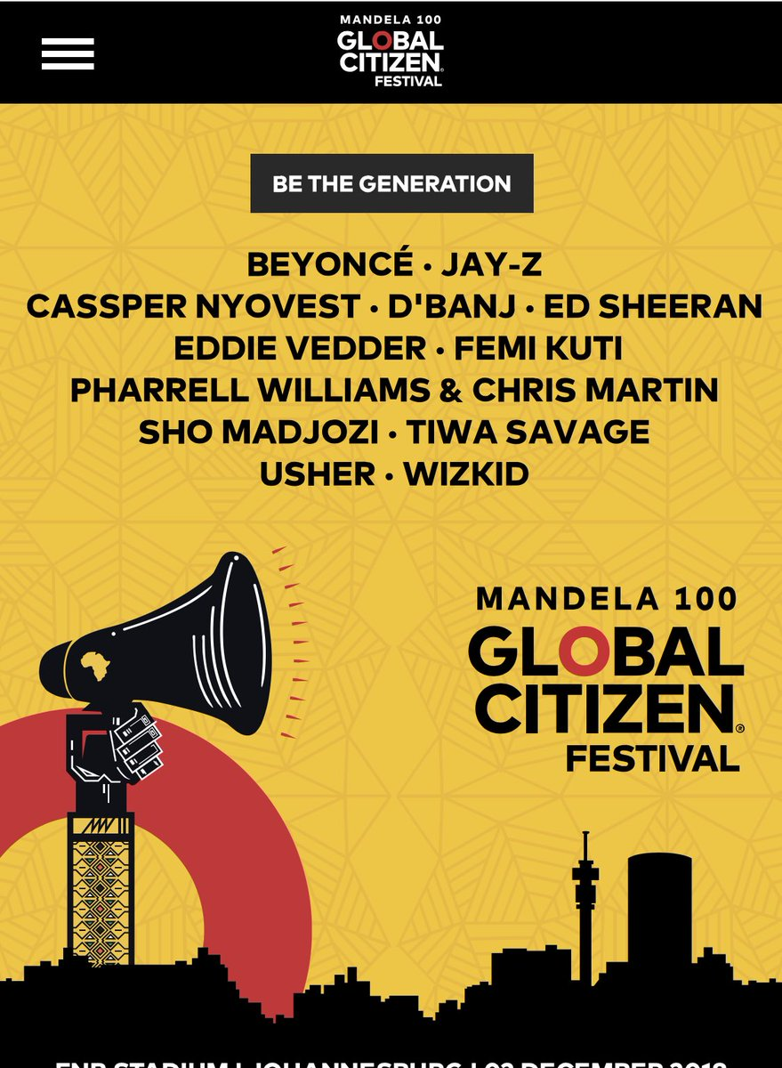 cassper nyoves Cassper Nyovest & Sho Madjozi Are Set To Share Stage With Beyonce, Jay-Z & More At #GlobalCitizenFestivalSA [Watch] DhptoXgXUAAZnmi