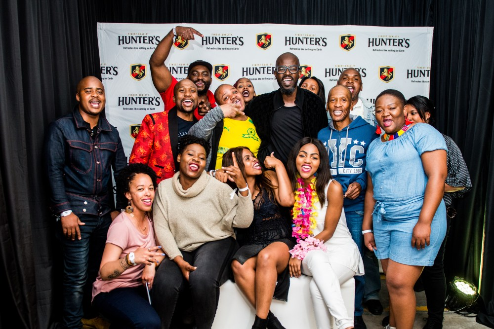 black coffee Hunter's Hosted An Unforgettable Party With Black Coffee! Black Coffee with the 14 winners