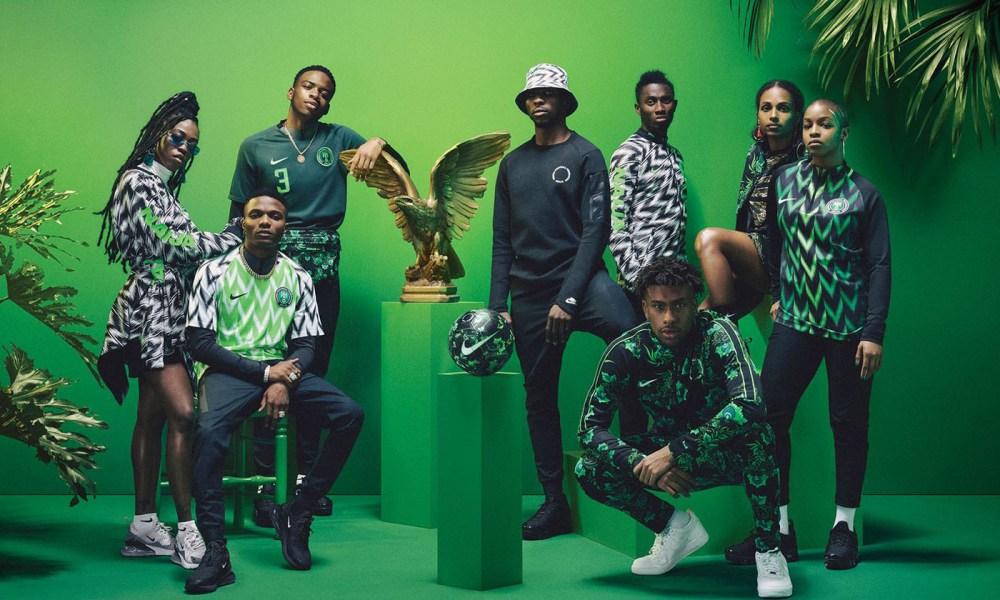 nigeria Nigerian Football Kit Scores Nomination For 2019 Beazley Design Of The Year Award https 2F2Fhypebeast