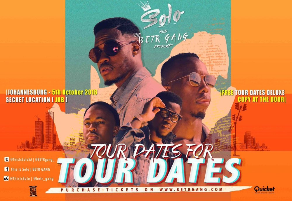 Solo And The BETR Gang Announce 'Tour Dates For Tour Dates' Dn2ehUtW0AAds31