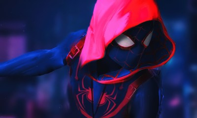 Watch The Lates 'Spider-Man: Into The Spider-Verse' Movie Trailer spider man into the spider verse 3840x2160 4k 15053