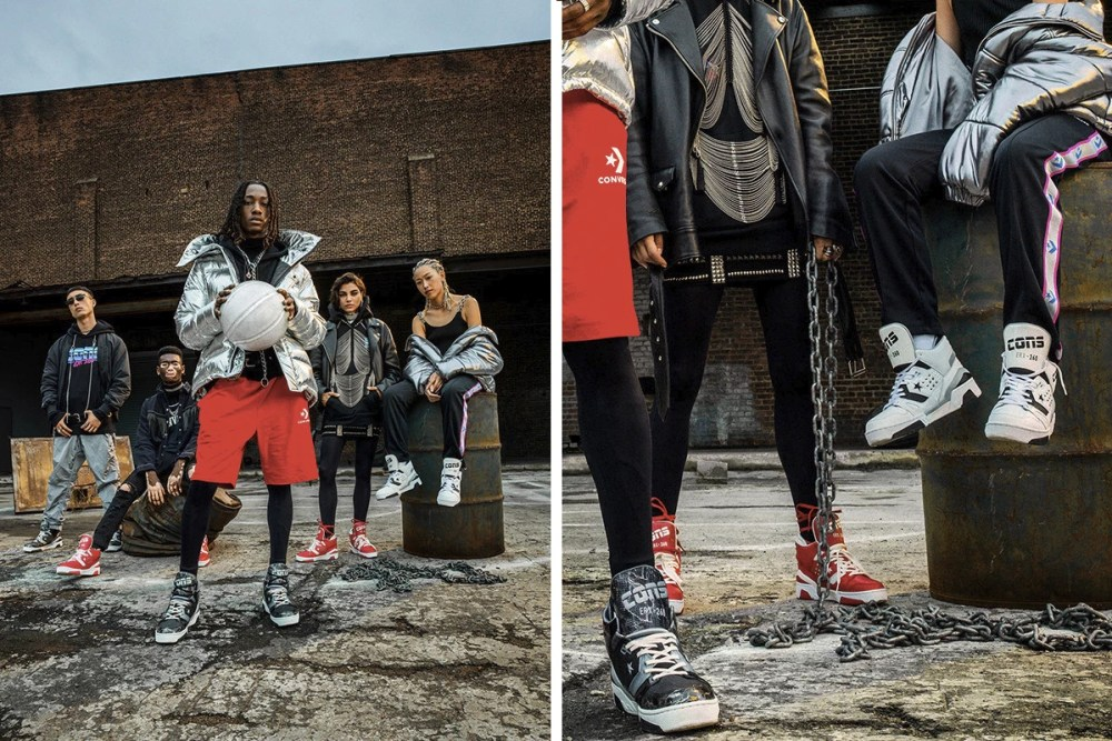 "converse Converse Launches Second ERX Collection With Don C ""ANIMAL VS METAL"" https   hypebeast"