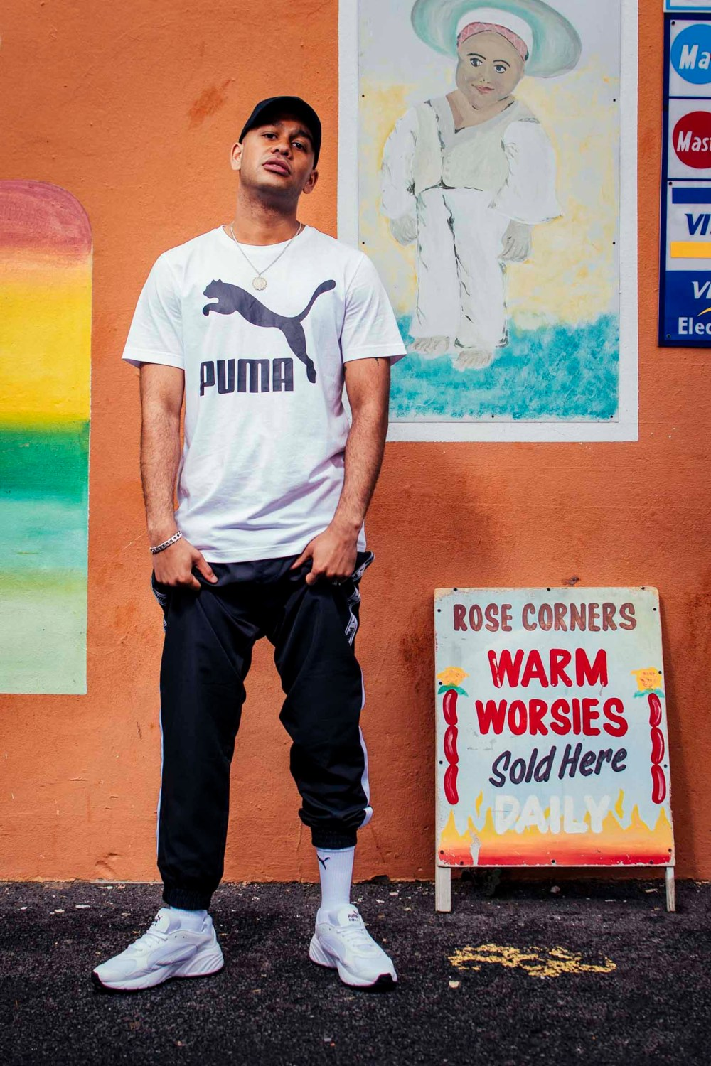 youngstacpt YoungstaCPT Wears Latest PUMA CELL Viper In White-On-White PUMA CELL Viper drop 2 Youngsta 1 lo