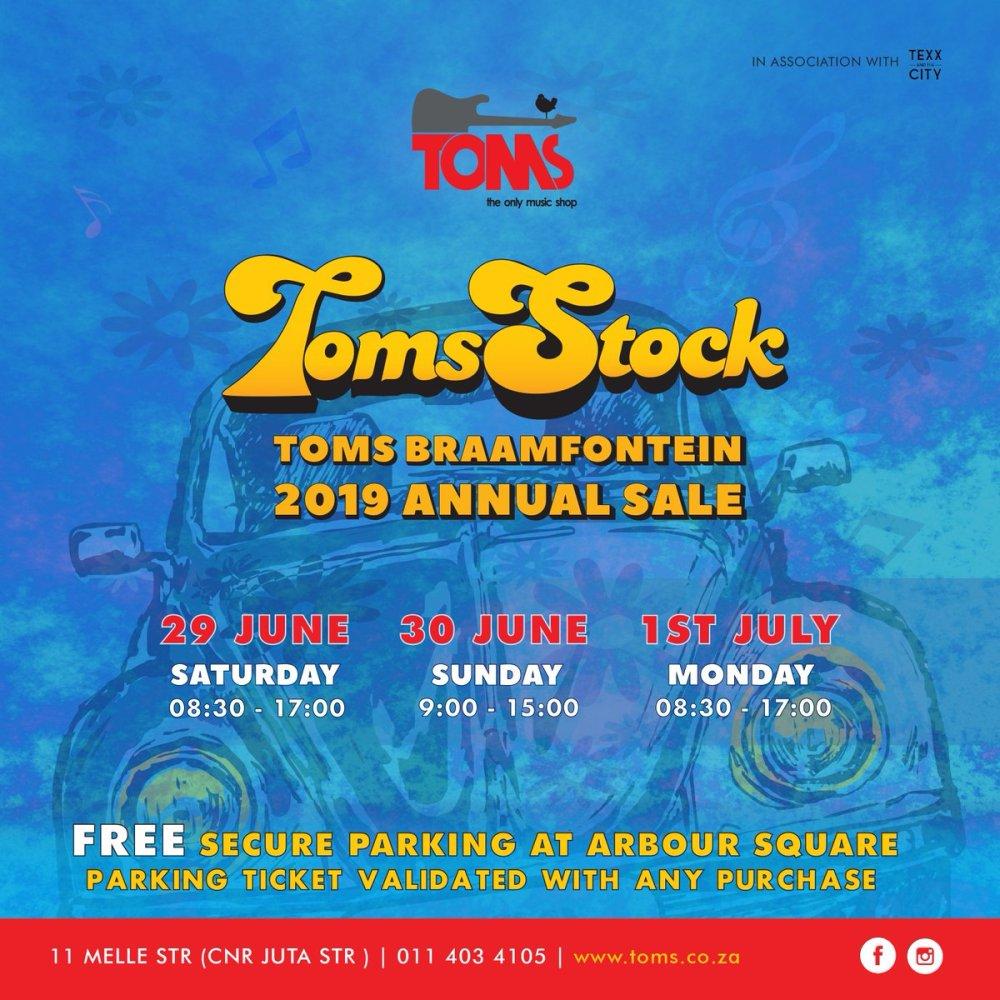 Details On TOMS Braamfontein 2019 Annual Sale! D8JSjxgXkAA6Xni