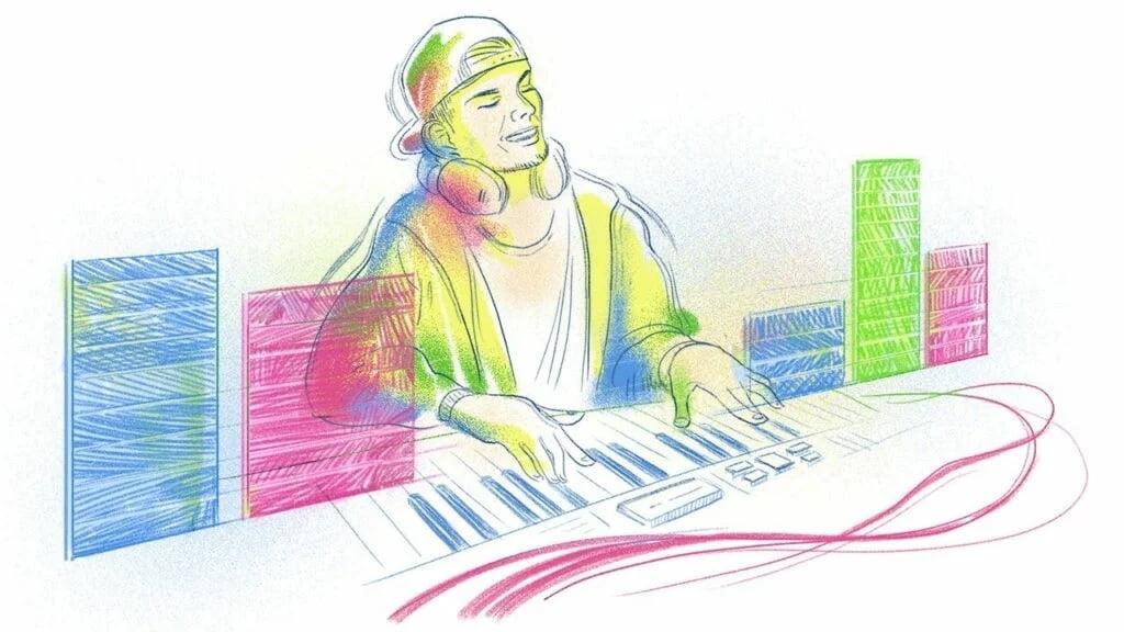 Google Doodle Celebrates the life of Avicii