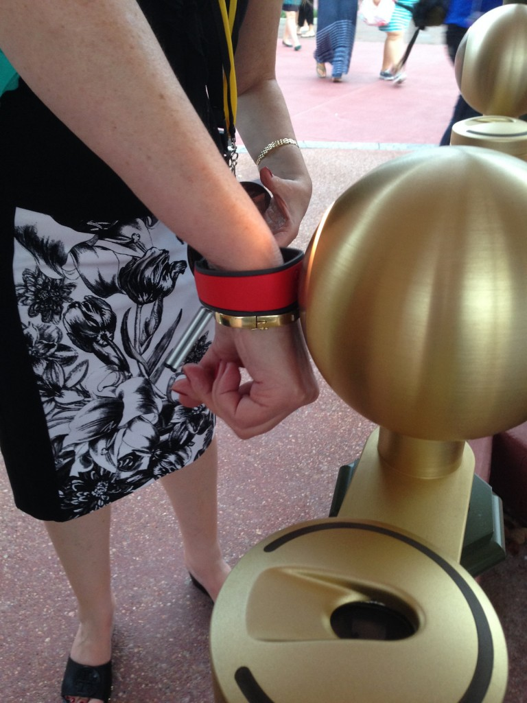 """The latest technology in the """"experience"""" economy at Disney World."""