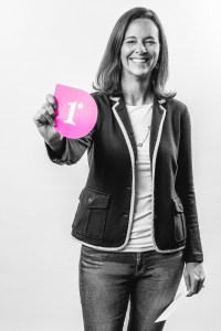 Lucienne Ide BW Pink Rimidi Logo