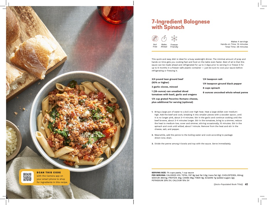 LVNGbook Recipe