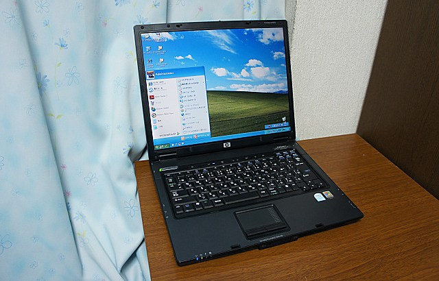 hp COMPAQ nx6320 SSD化あれこれ (その1)