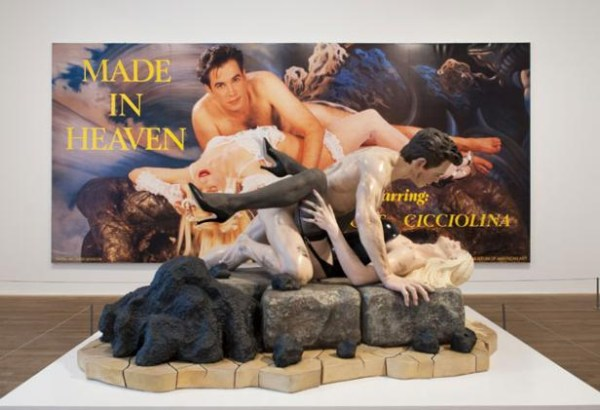 "Jeff Koons' ""Made in Heaven"" suite, installation shot (image from tate.org.uk)"