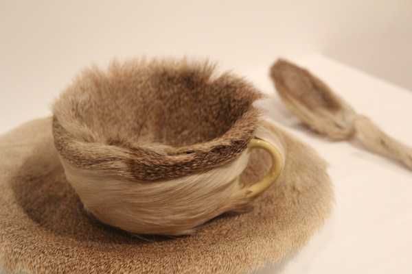 """Meret Oppenheim, """"Object"""" (1936) in the Collection of the MoMA (image via aresonantvoice.wordpress.com)"""