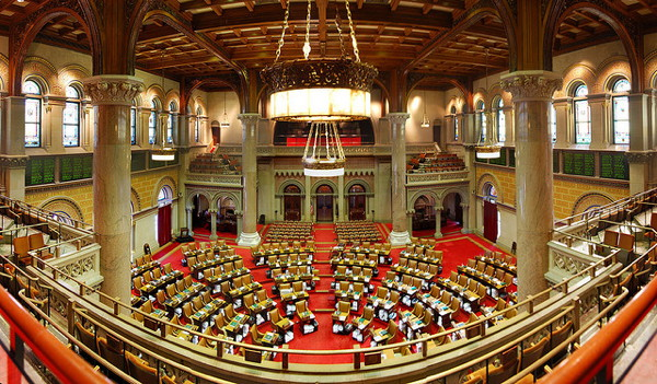 New York State Assembly Chamber