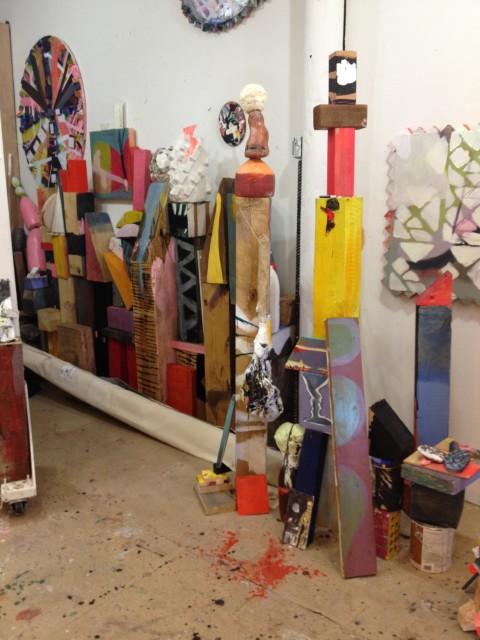 Emily Noelle Lambert's studio