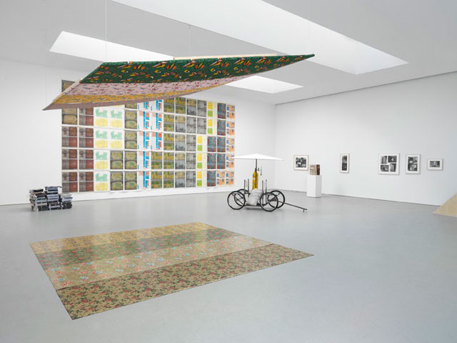 "Installation view of ""112 Greene Street: The Early Years (1970–1974)"" at David Zwirner Gallery"
