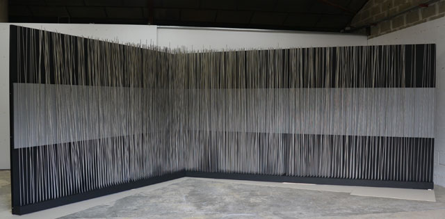 """Jesus Rafael Soto, """"Mural Panoramico Vibrante Sonoro"""""""