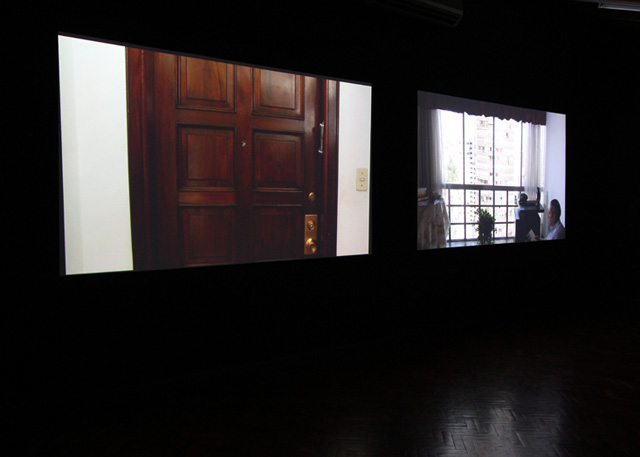 """Installation view, Claudia Joskowicz, """"Sympathy for The Devil"""" (2011) at Forever & Today"""