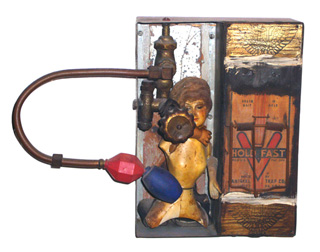 """Edward Kienholz, """"Animal Trap"""" (1962), part of the Pasadena Museum of Art's Pacific Standard show, """"L.A. Raw"""""""