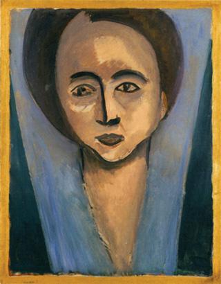 "Henri Matisse, ""Sarah Stein""  (1916) (© 2012 Succession H. Matisse / Artists Rights Society [ARS], New York, image via studio-international.co.uk)"