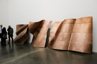 """Danh Vo's """"We the People (detail)"""" on view at the New Museum Triennial (image by Anthony Esposito, courtesy artfagcity.com)"""