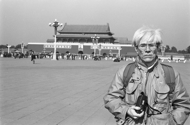 Andy Warhol in China (Image via (tvfrance-intl.com)