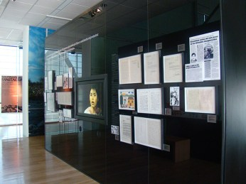 """""""The Pain of the Children"""" room in the Museum of Memory and Human Rights"""