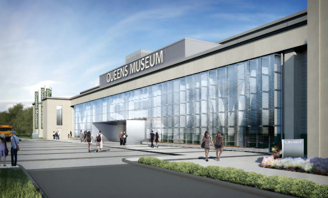 Rendering of expanded Queens Museum (Courtesy of Grimshaw and the Queens Museum of Art)
