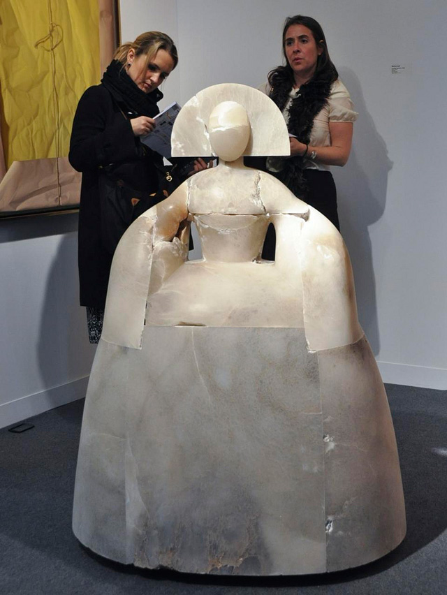 Seen at last year's Armory Show (image via Flickr/j-No)