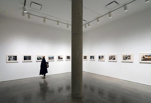 """Installation view, Mike Brodie, """"A Period of Juvenile Prosperity"""" (© David Sundberg / Esto)"""