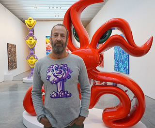 Kenny Scharf (photo by Adam Wallacavage, used with the permission of Scharf)