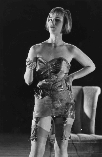Holly Hughes in World Without End, her 1989 show that caused her grant to be vetoed by the NEA.