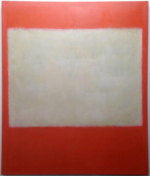 "Mark Rothko, ""No. 1"" (1957), oil on canvas, at Helly Nahmad Gallery, New York"