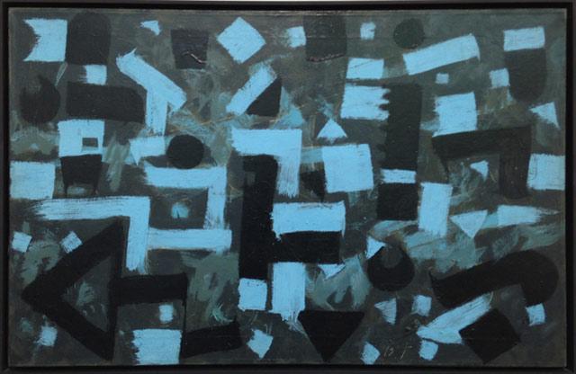 "Bradley Walker Tomlin, ""Number 10"" (1949), oil on canvas at Pace, New York / Beijing / London"