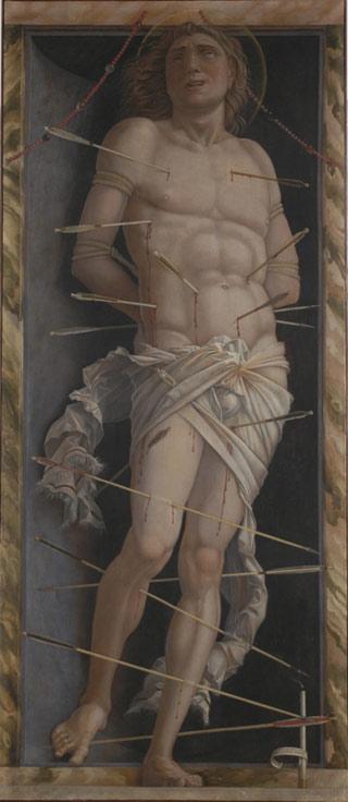 "Andrea Mantegna, ""San Sebastiano"""