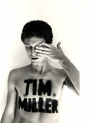Tim Miller at age 19. (Source: Tim Miller)