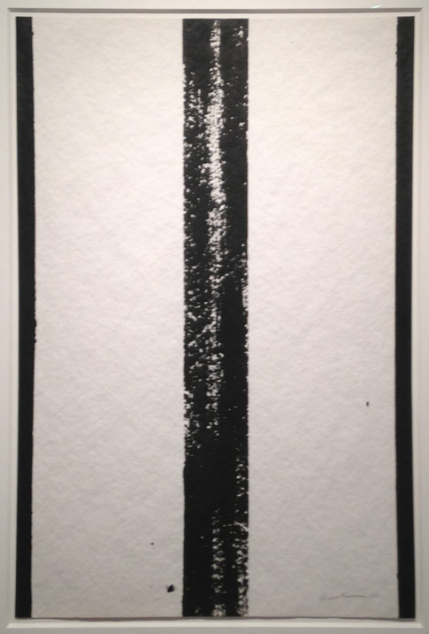 """Barnett Newman, """"Untitled"""" (1959), a work on paper offered by Dominique Lévy Gallery, New York"""