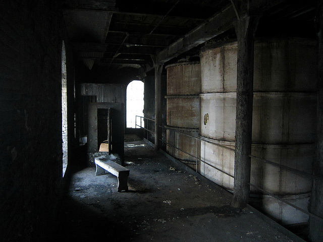 Inside the abandoned Domino Sugar Factory