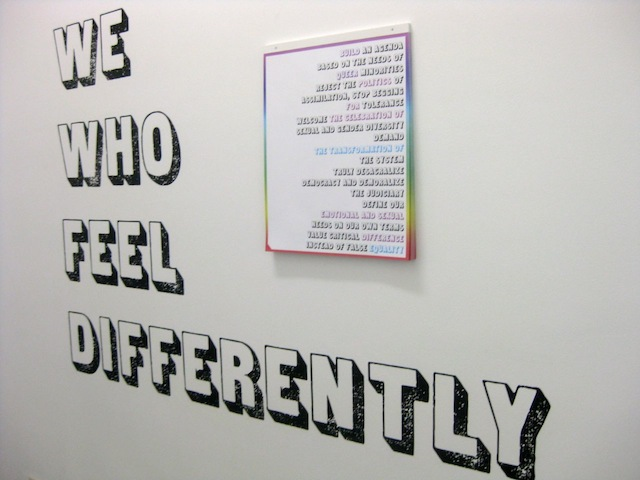 We who think differently