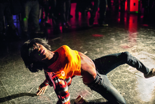 Vogue dance battle at La Escuelita, Manhattan, 2012