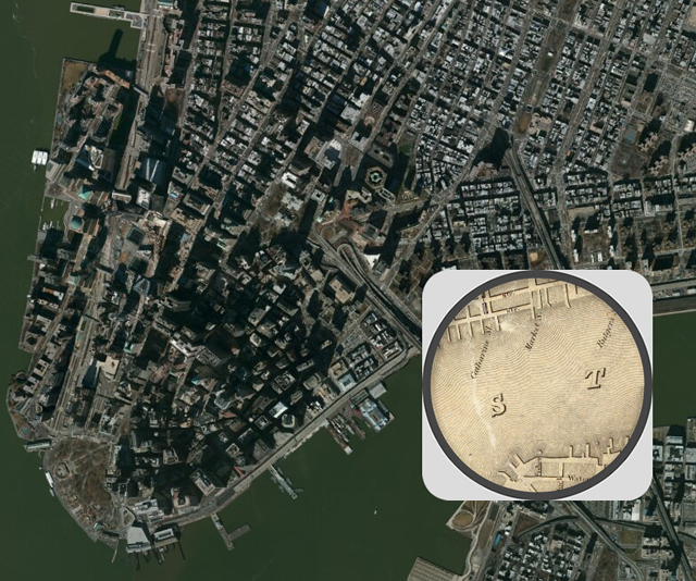 Screenshot of the interactive 1836 map on Smithsonian.com
