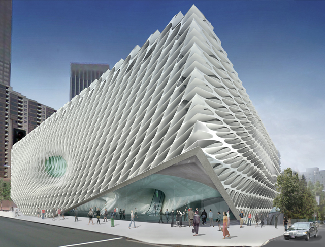 Design for the Broad (copyright Diller Scofidio + Renfro, via the Broad Art Foundation)
