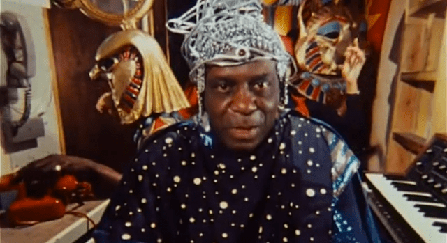 Sun Ra in TK (still via YouTube)