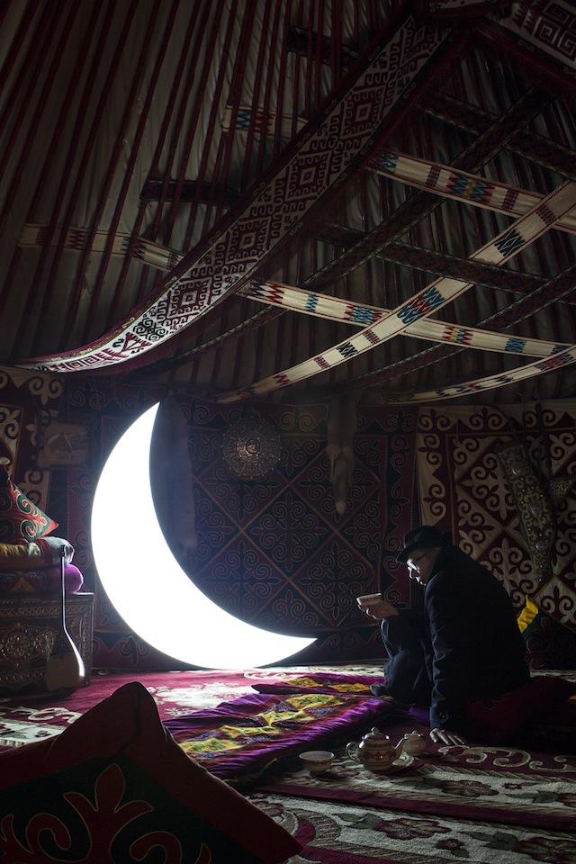 """Private Moon"" in Kazakhstan"